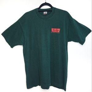 Vintage Steinlager New Zealand Beer Shirt Green XL